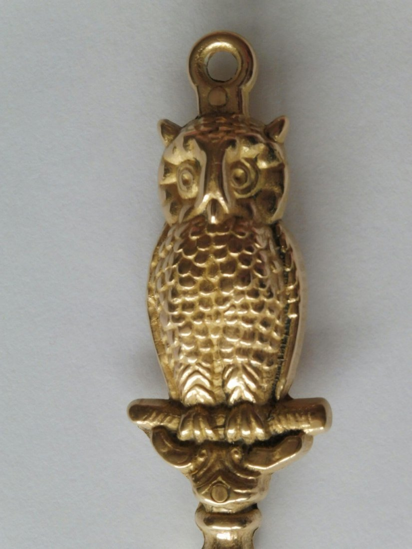 Antique Shoe Horn with owl