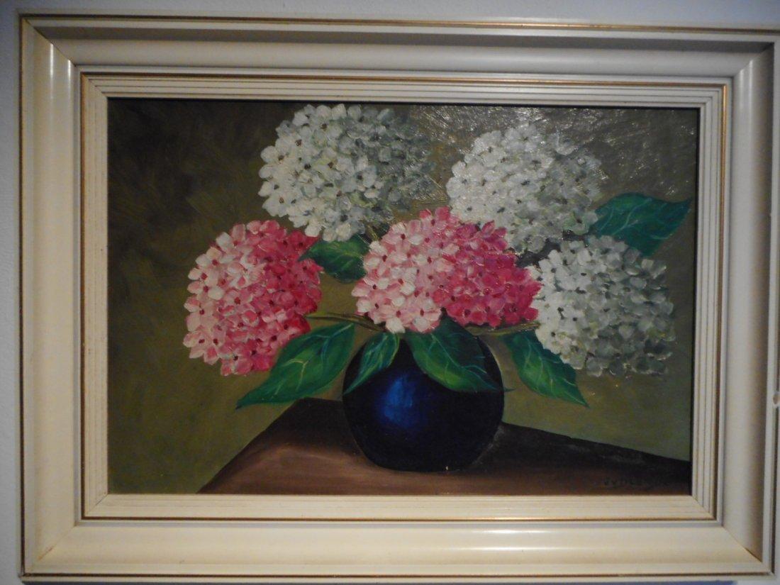 Painting by Dutch painter J vd Lende