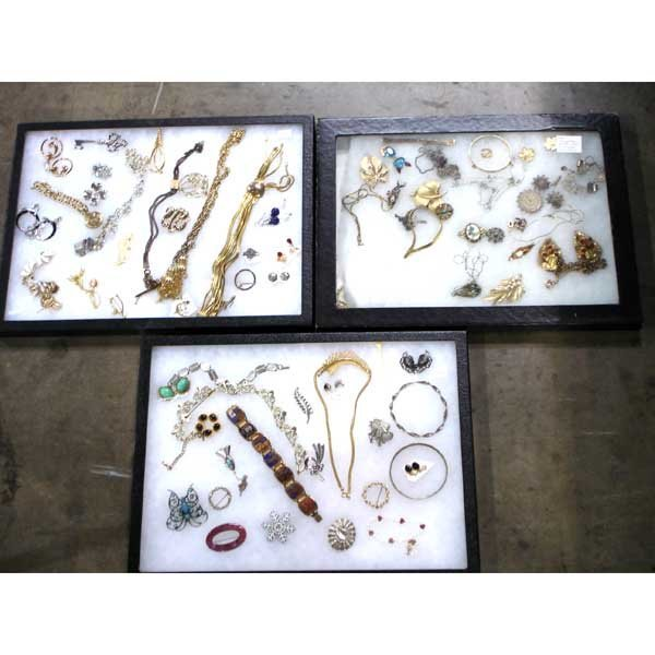 11: 3 Display Boxes of Jewelry