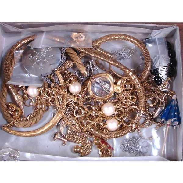 16: Box of Costume Jewelry