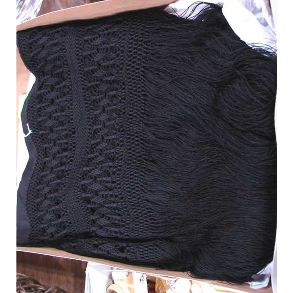 17: Hand Knotted Silk Shawl
