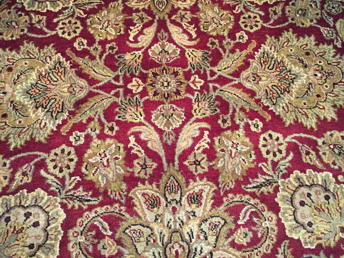 AUTHENTIC HAND KNOTTED JAIPUR RUG ROUND 8X8 - 5