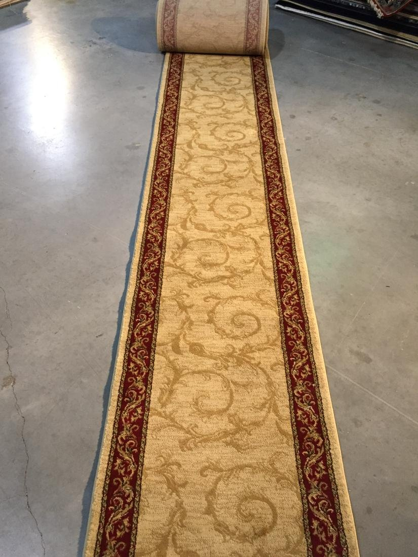36 ft Long stair/hallway wide roll runner