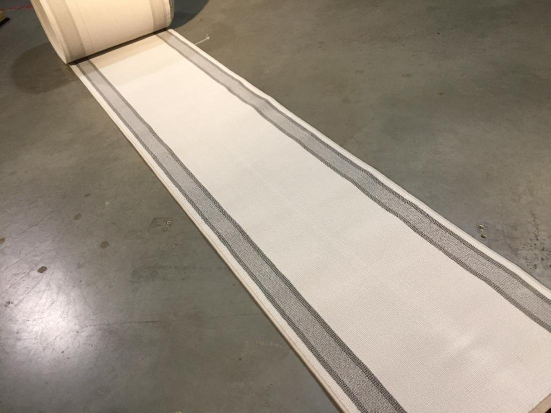 30 ft Long stair/hallway Belgium roll runner