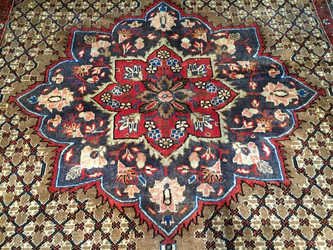 MAGNIFICENT  HAND KNOTTED AUTH PERSIAN RUG 5.4x8.5 - 2