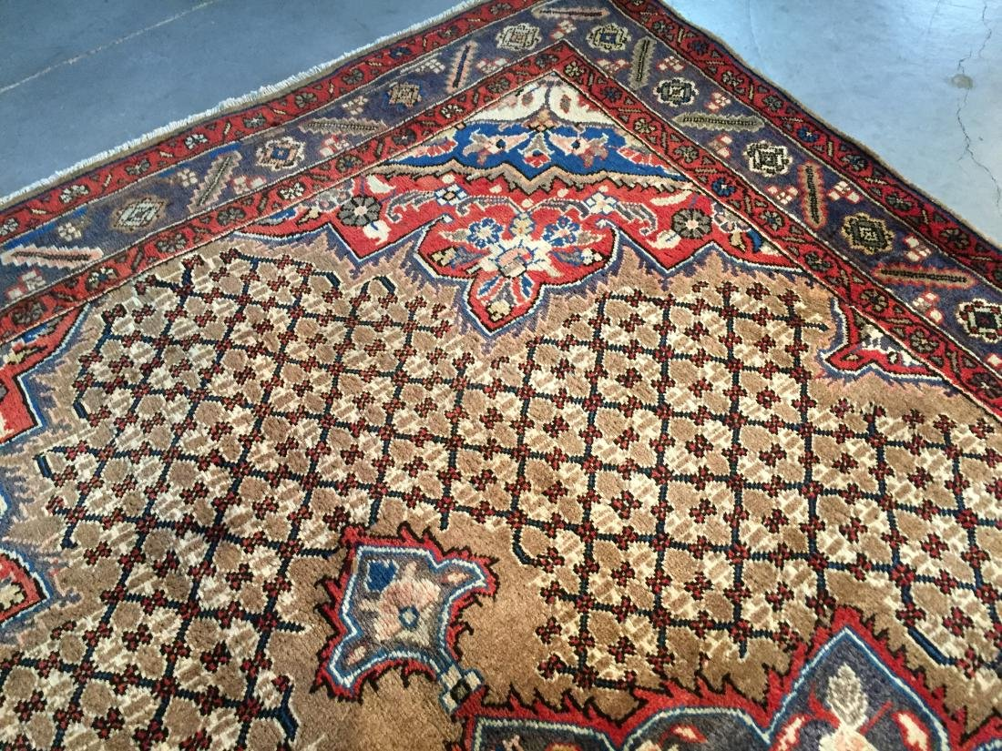MAGNIFICENT  HAND KNOTTED AUTH PERSIAN RUG 5.4x8.5 - 3