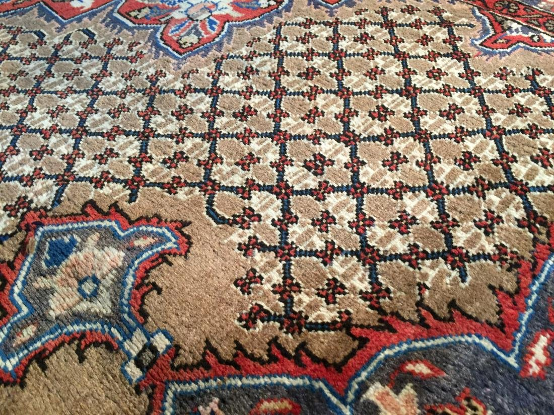 MAGNIFICENT  HAND KNOTTED AUTH PERSIAN RUG 5.4x8.5 - 4