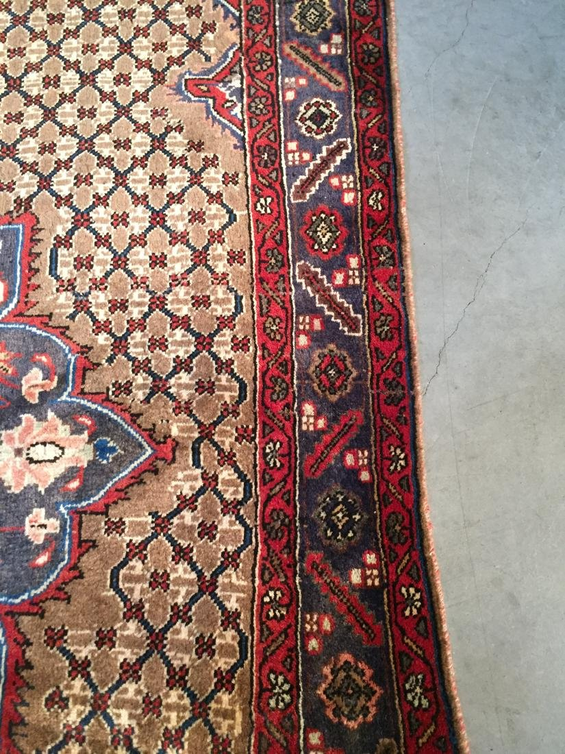 MAGNIFICENT  HAND KNOTTED AUTH PERSIAN RUG 5.4x8.5 - 5