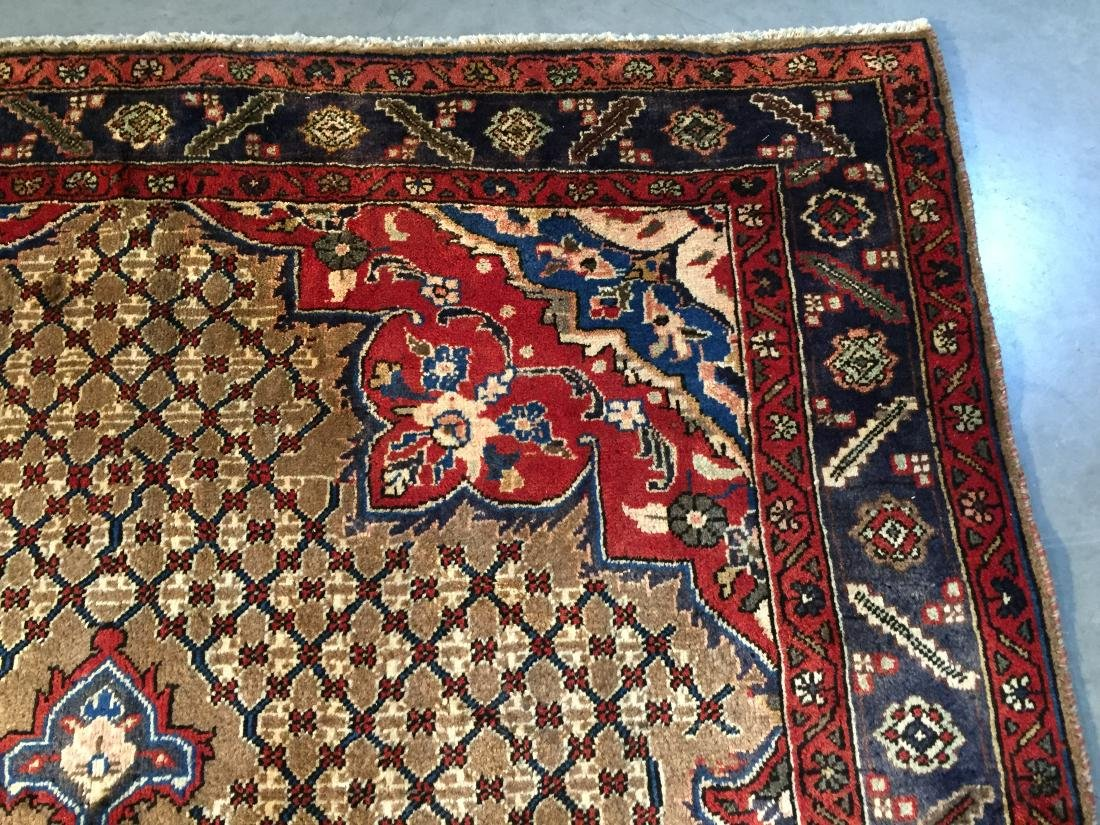 MAGNIFICENT  HAND KNOTTED AUTH PERSIAN RUG 5.4x8.5 - 6