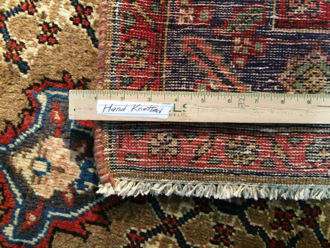 MAGNIFICENT  HAND KNOTTED AUTH PERSIAN RUG 5.4x8.5 - 7