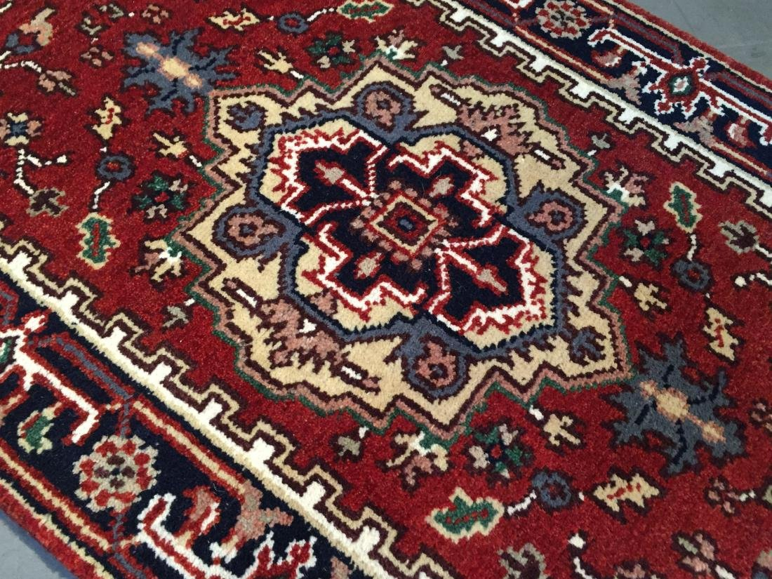 """MAGNIFICENT HAND-KNOTTED """"SERAPI""""  WOOL RUNNER 2.6X20' - 4"""