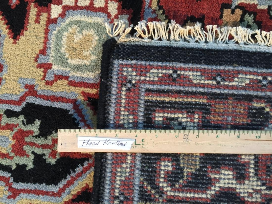 "MAGNIFICENT HAND-KNOTTED ""SERAPI""  WOOL RUNNER 5' x 8 - 8"