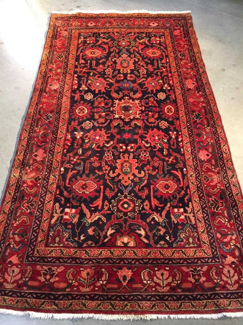 AUTHENTIC HAND KNOTTED PERSIAN HAMADAN RUG 5x8