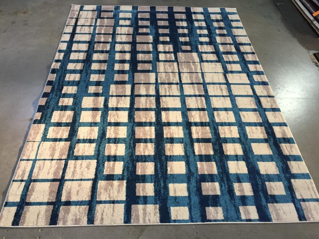 CONTEMPORARY DESIGN AREA RUG 8x11