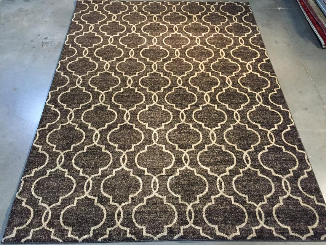 DECORATIVE MOROCCAN DESIGN RUG 8x11