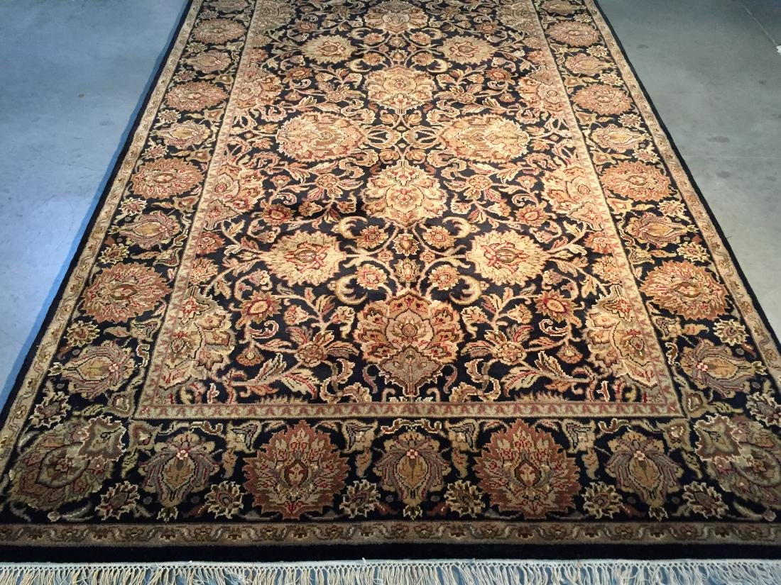 AUTHENTIC HAND KNOTTED WOOL AGRA RUG 6X9