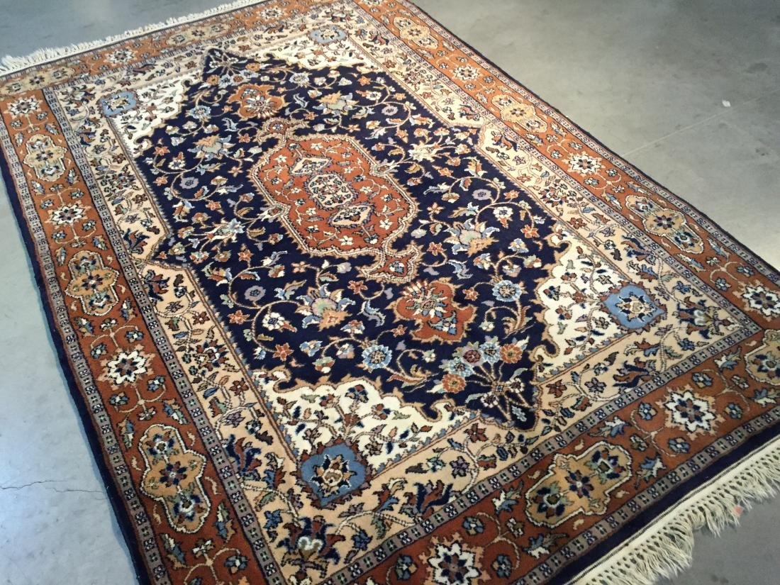 "EXQUISITE PERSIAN DESIGN RUG 4'.2""x6'.2"" - 2"