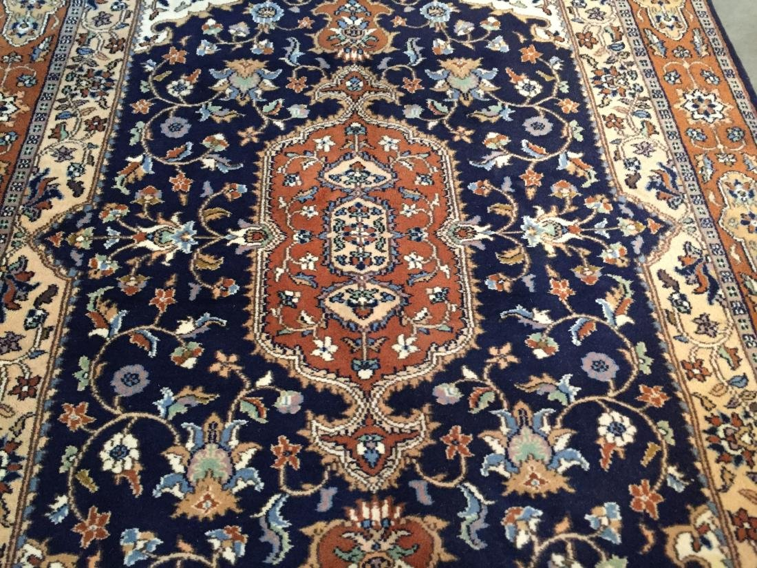 "EXQUISITE PERSIAN DESIGN RUG 4'.2""x6'.2"" - 4"