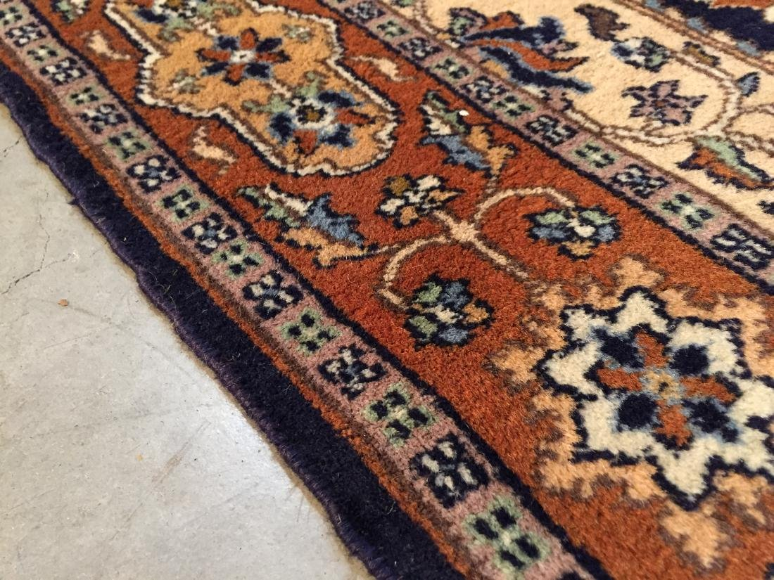 "EXQUISITE PERSIAN DESIGN RUG 4'.2""x6'.2"" - 6"