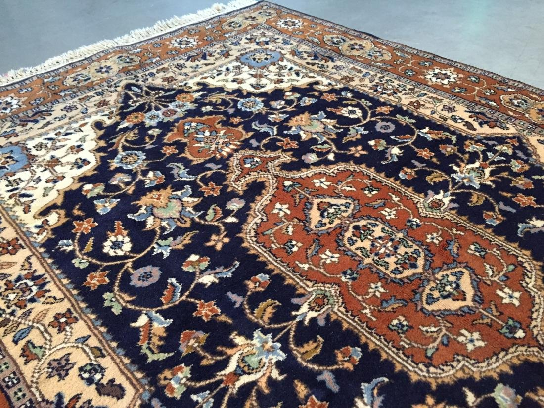 "EXQUISITE PERSIAN DESIGN RUG 4'.2""x6'.2"" - 7"