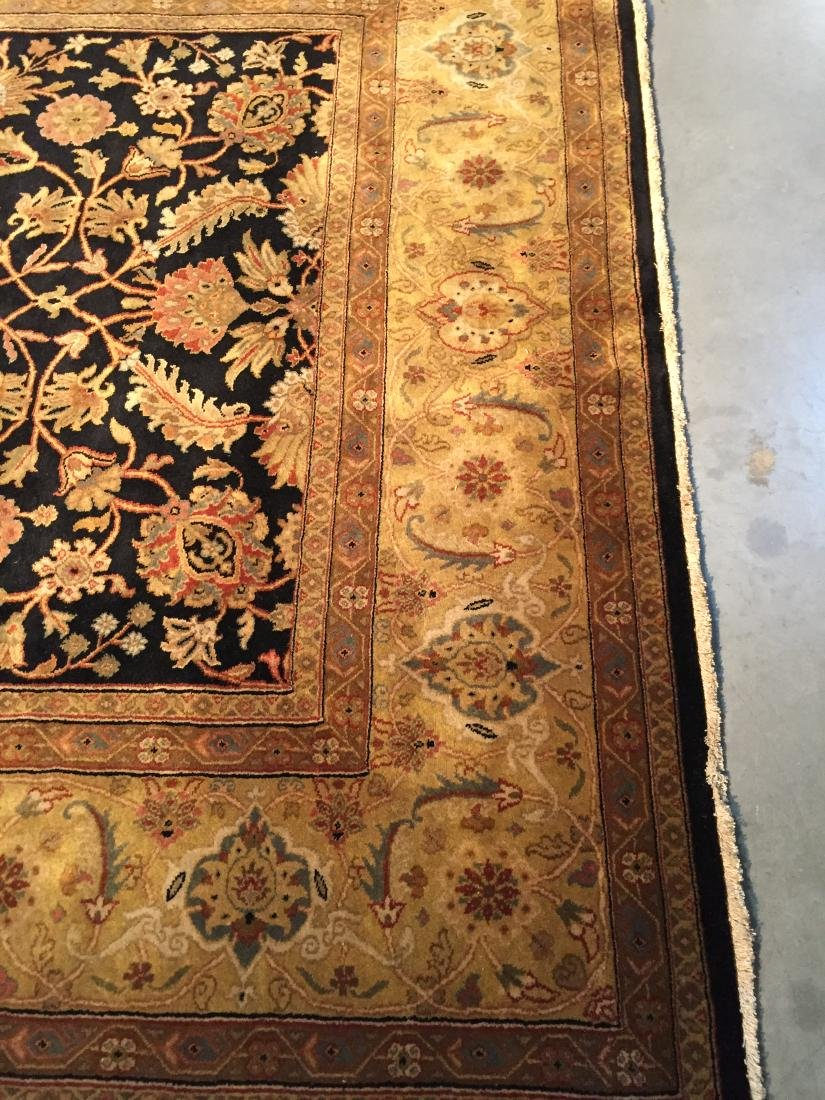 FINE ANTIQUE REPRODUCTION WOOL RUG 8x10 - 4