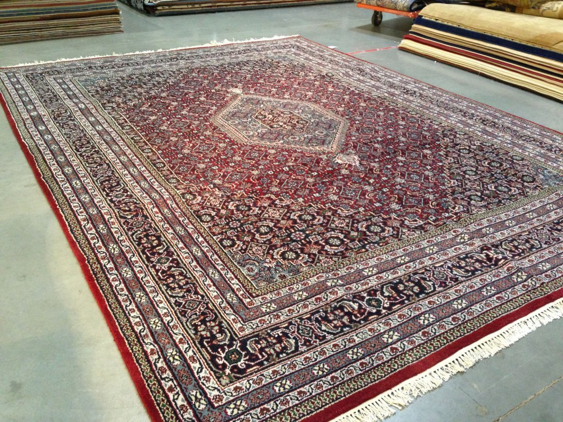 HAND-KNOTTED  CLASSIC WOOL  RUG  9x12 - 2
