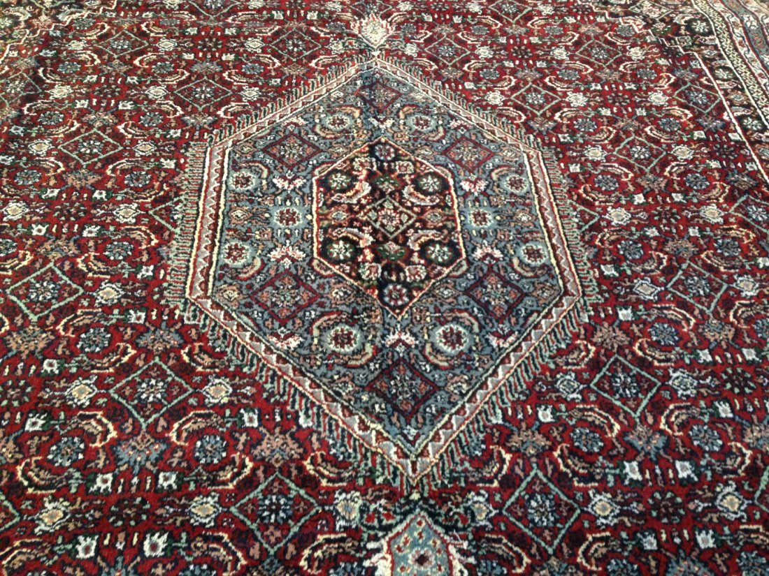 HAND-KNOTTED  CLASSIC WOOL  RUG  9x12 - 4