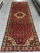 HAND KNOTTED PERSIAN HAMEDAN RUNNER 36x102