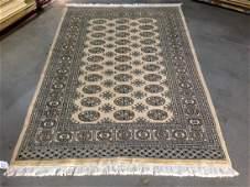 Authentic Princess Bokhara wool rug 4x61