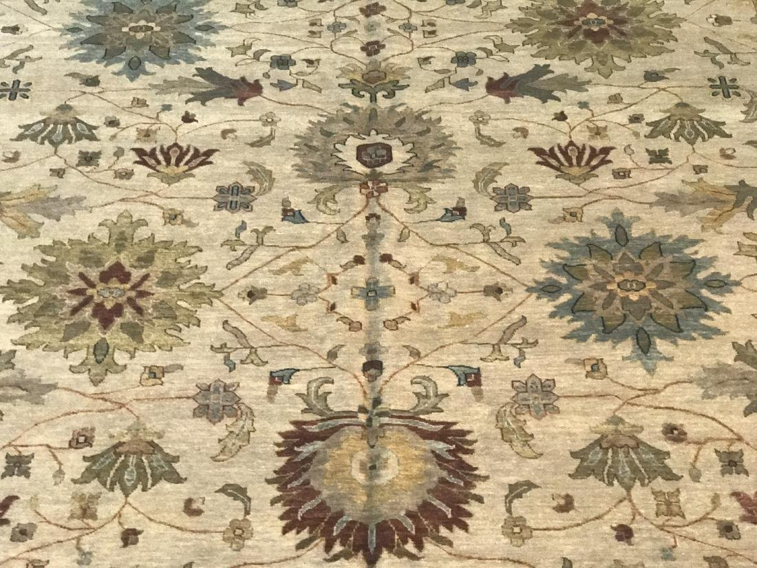 OVER SIZE FINE  HAND KNOTTED MAHAL DESIGN RUG 12x15 - 2