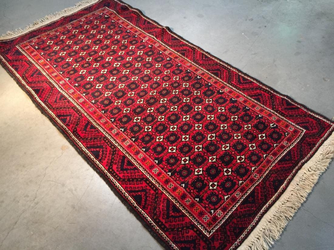 HAND KNOTTED PERSIAN  RUG 3.7x7