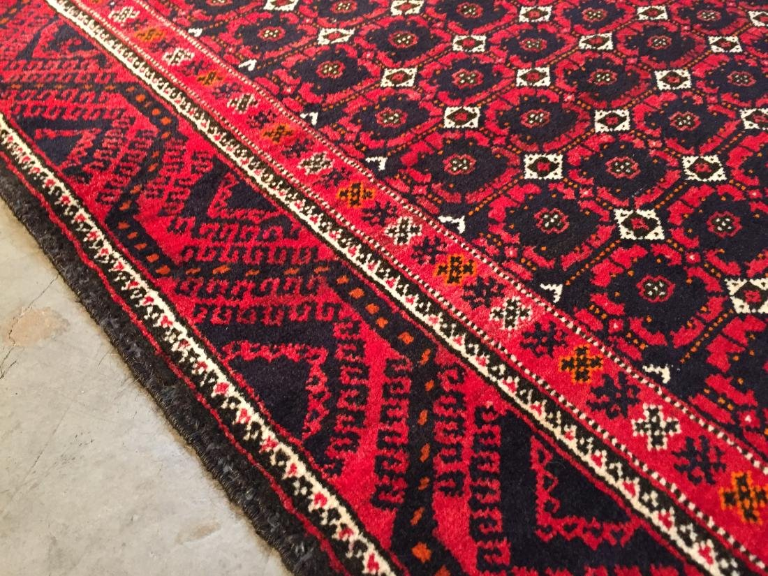 HAND KNOTTED PERSIAN  RUG 3.7x7 - 2