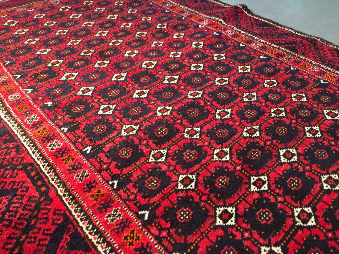 HAND KNOTTED PERSIAN  RUG 3.7x7 - 5