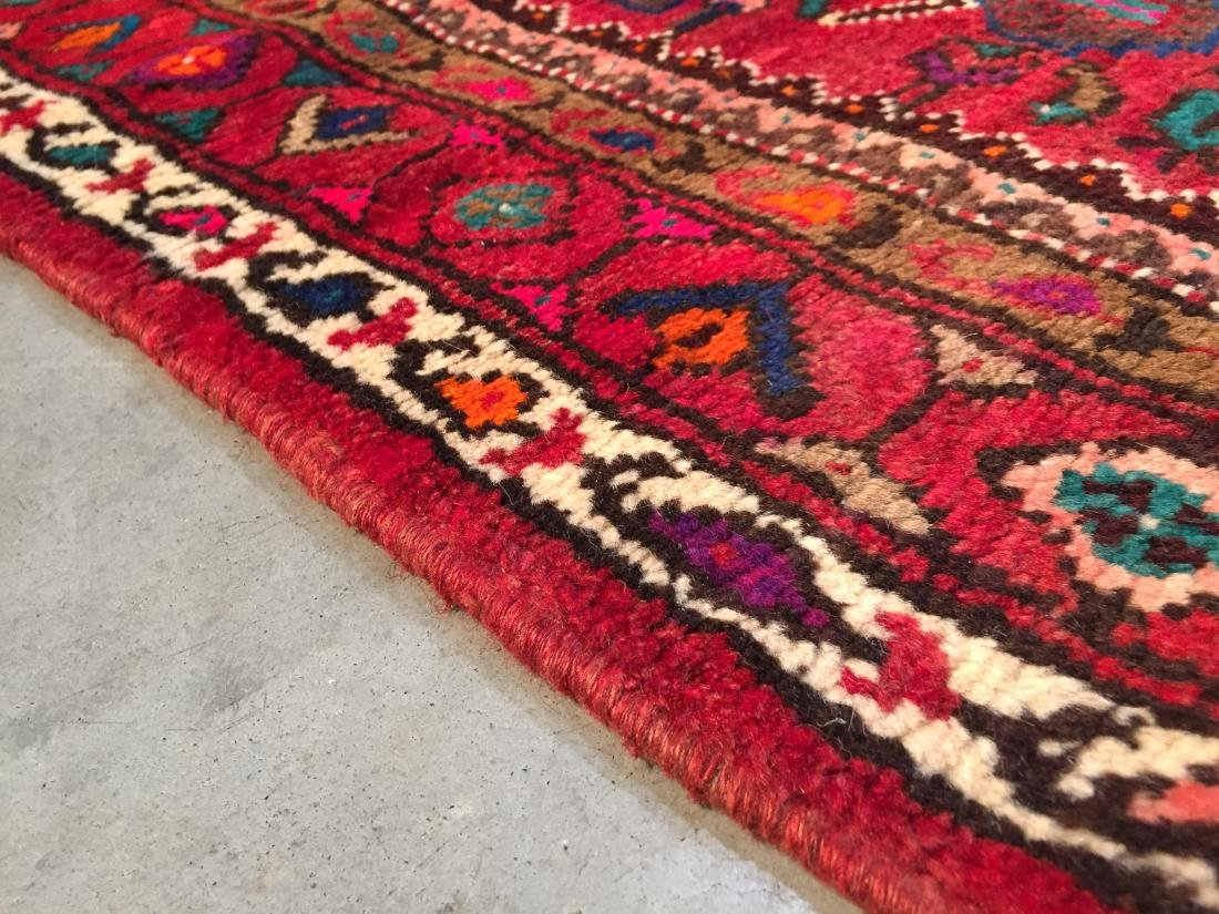 AUTHENTIC HAND KNOTTED PERSIAN HAMEDAN RUG 5x9 - 7