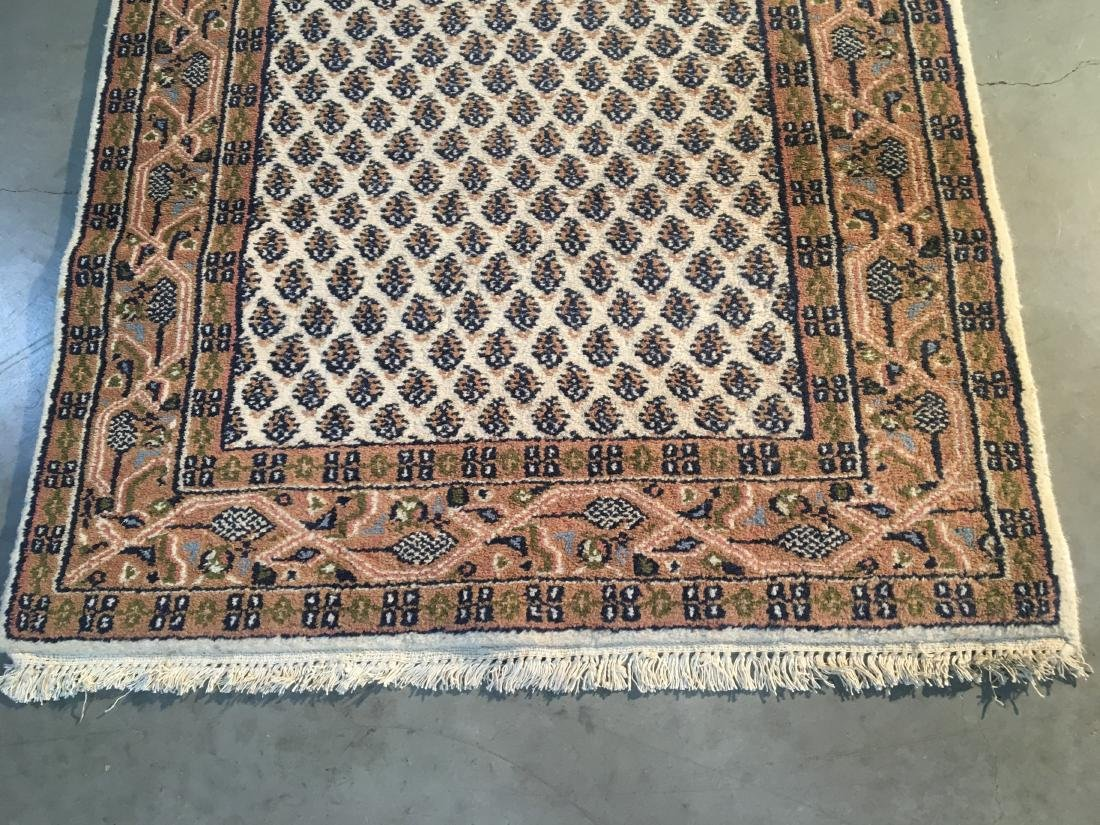 CLASSIC HAND-KNOTTED  WOOL RUNNER 2.9x10.2 - 4