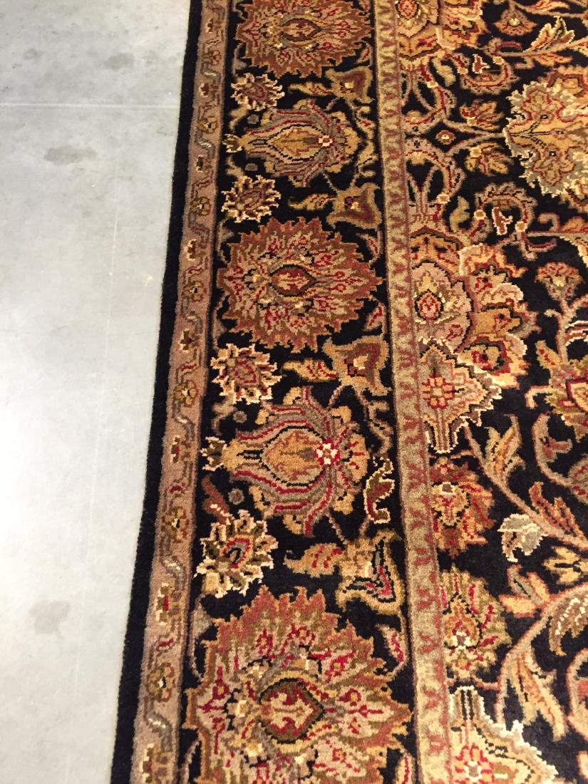 AUTHENTIC HAND KNOTTED WOOL AGRA RUG 6X9 - 3