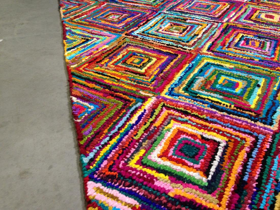 COLORFUL HAND MADE RUG 5.6x8.6 - 3