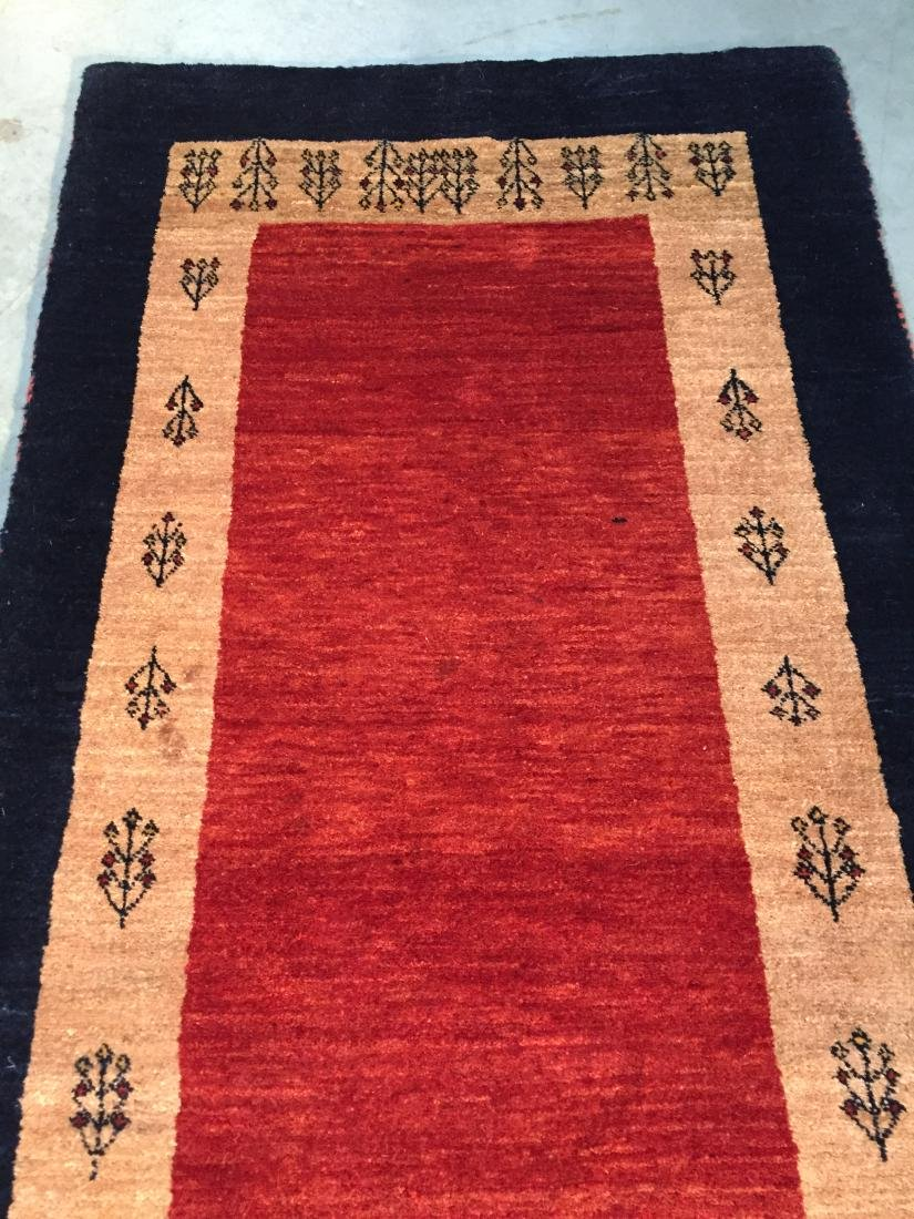 "MAGNIFICENT AUTHENTIC PERSIAN GABBEH RUNNER 2'.6""X8'.8"" - 3"