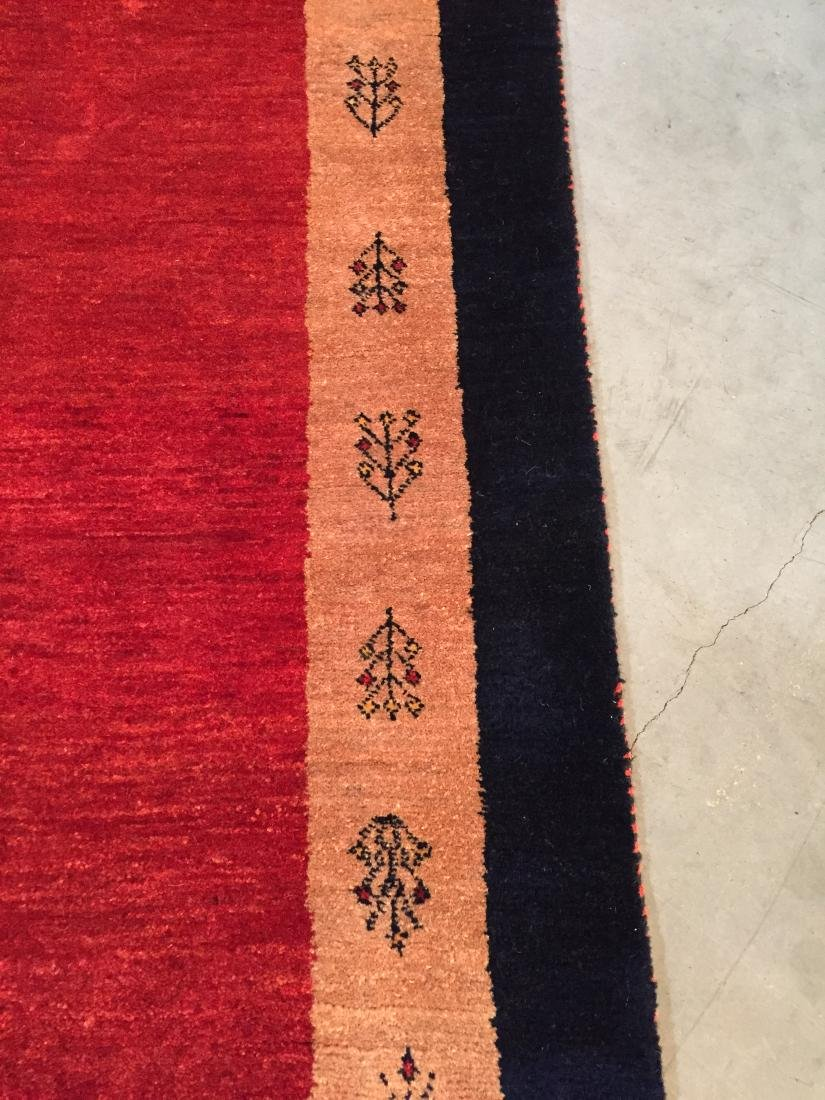 "MAGNIFICENT AUTHENTIC PERSIAN GABBEH RUNNER 2'.6""X8'.8"" - 5"