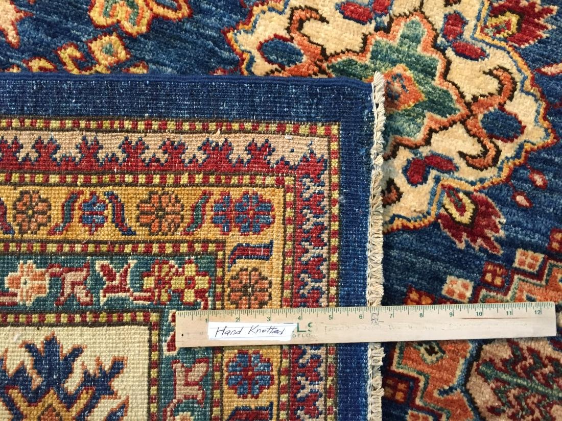 FINE HAND KNOTTED WOOL SUPER KAZAK RUG 8x11 - 9