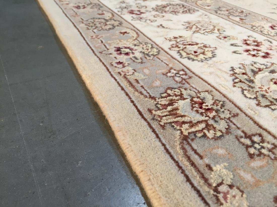 MAGNIFICANT HAND-KNOTTED  PERSIAN WOOL AND SILK  RUG - 8