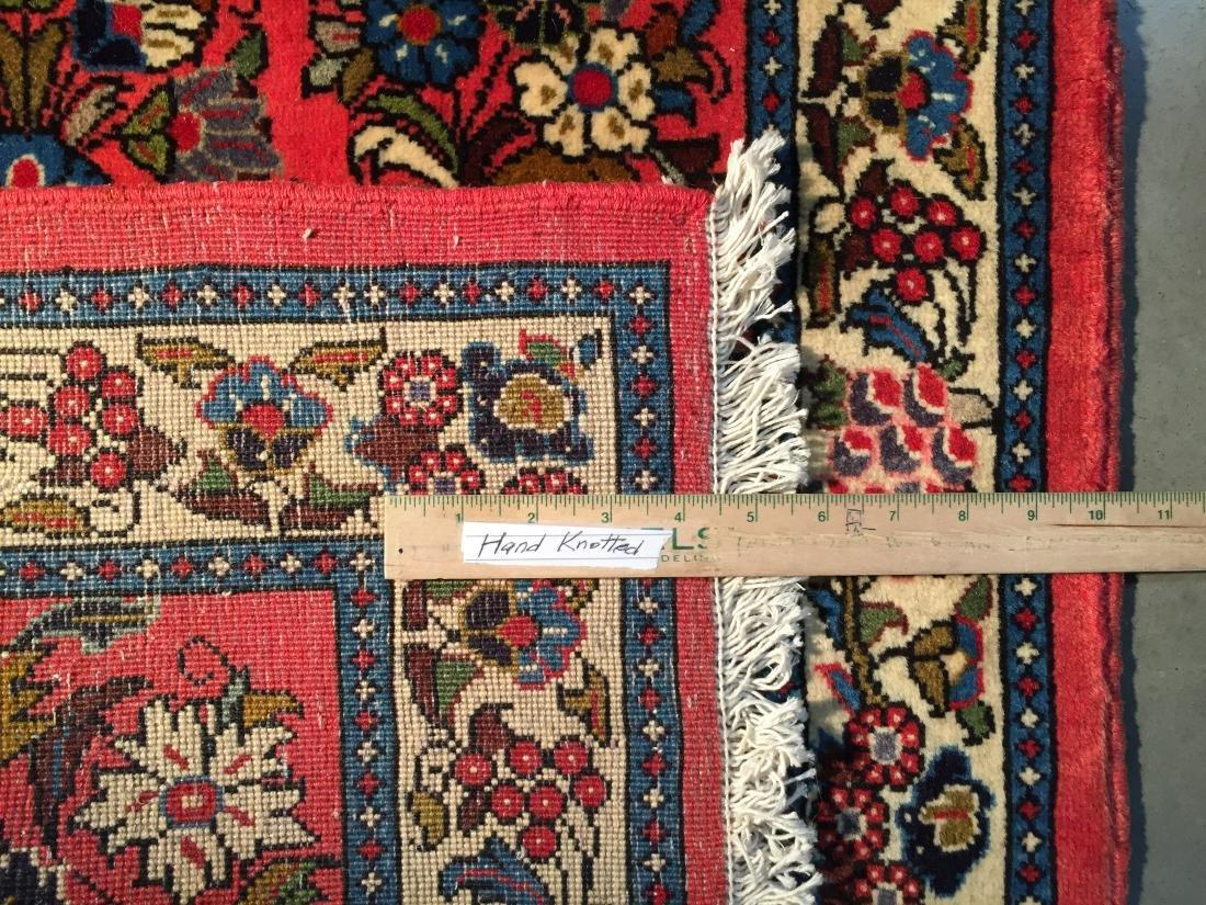 MAGNIFICANT AUTHENTIC PERSIAN SAROUK  2.8x6.8 - 7