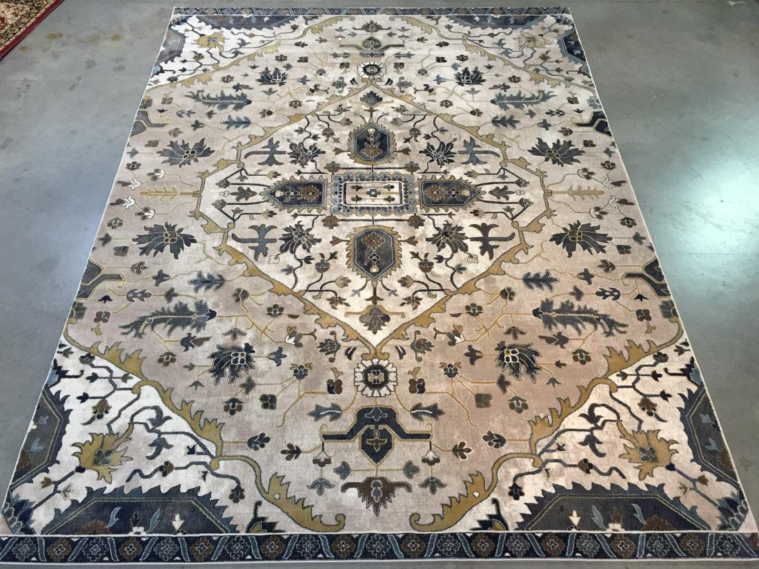 MAGNIFICENT GEOMETRIC DESIGN RUG 8x11