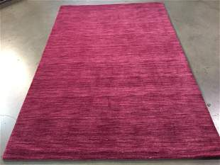 DECORATIVE MODERN DESIGN WOOL RUG 5 x 7.6