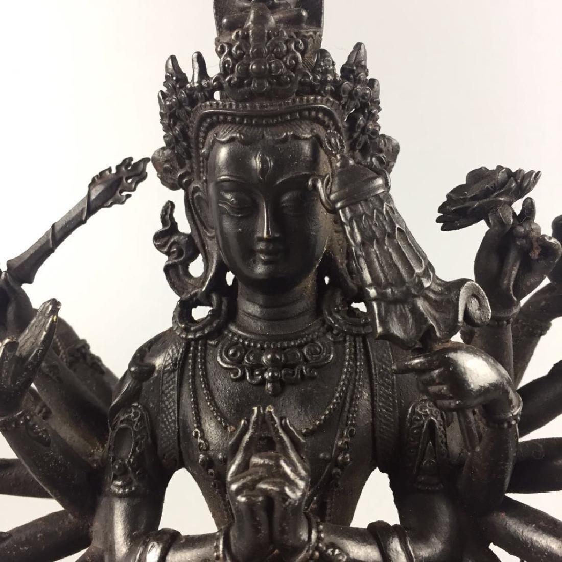 Yongle Mark, A Bronze Buddha - 2