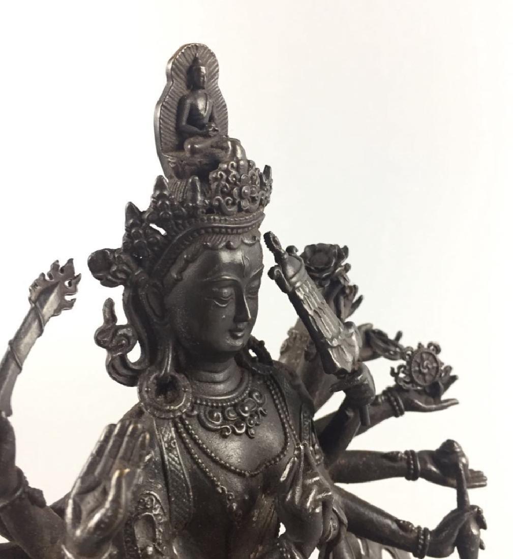 Yongle Mark, A Bronze Buddha - 4