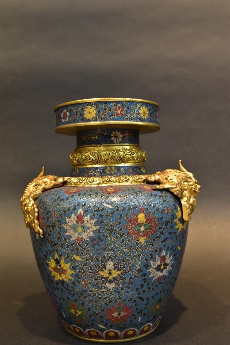 A  Cloisonne Vase