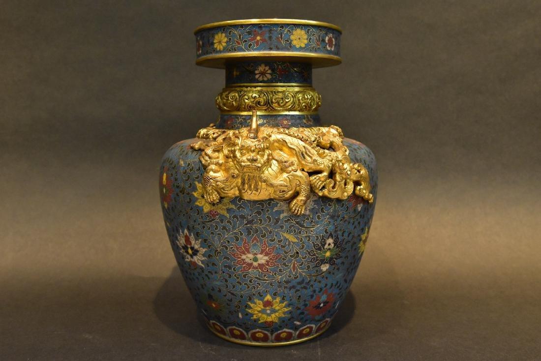A  Cloisonne Vase - 2