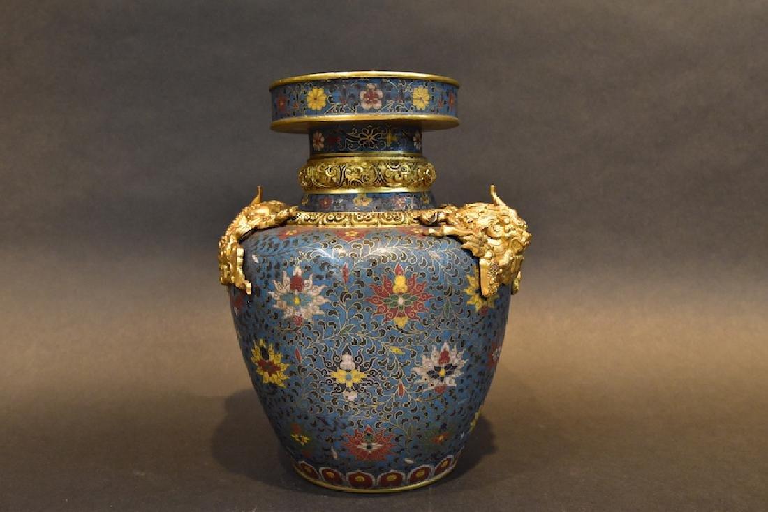 A  Cloisonne Vase - 3