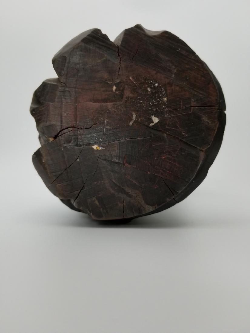 A Carved Wood Longevity - 5